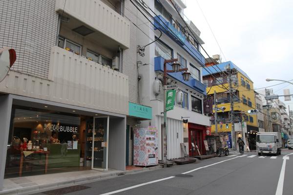奥渋谷の街並み写真