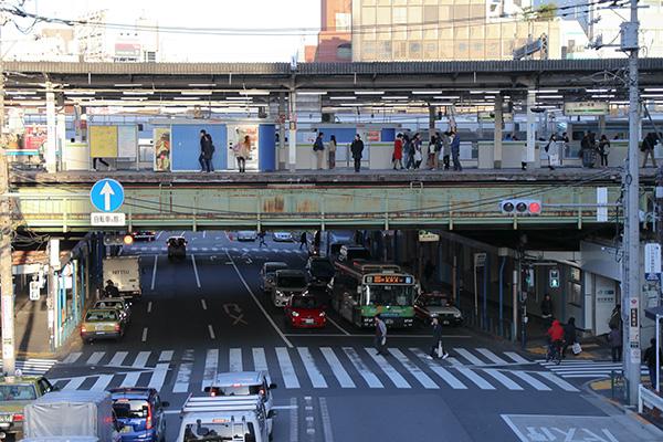西日暮里駅の写真