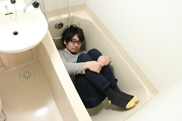風呂に入るマンスーン画像